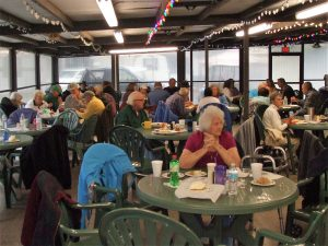 Residents Enjoying Fish Fry