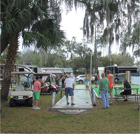 RV Park & Campground in Silver Springs, Florida with Lots of